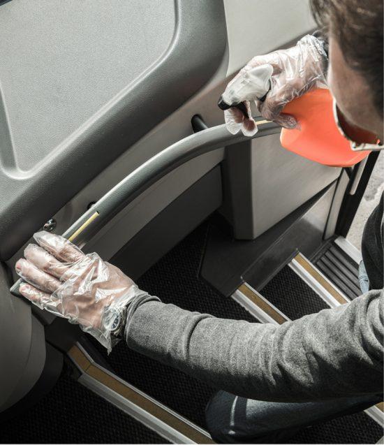Segurança Sanitária no transporte rodoviário